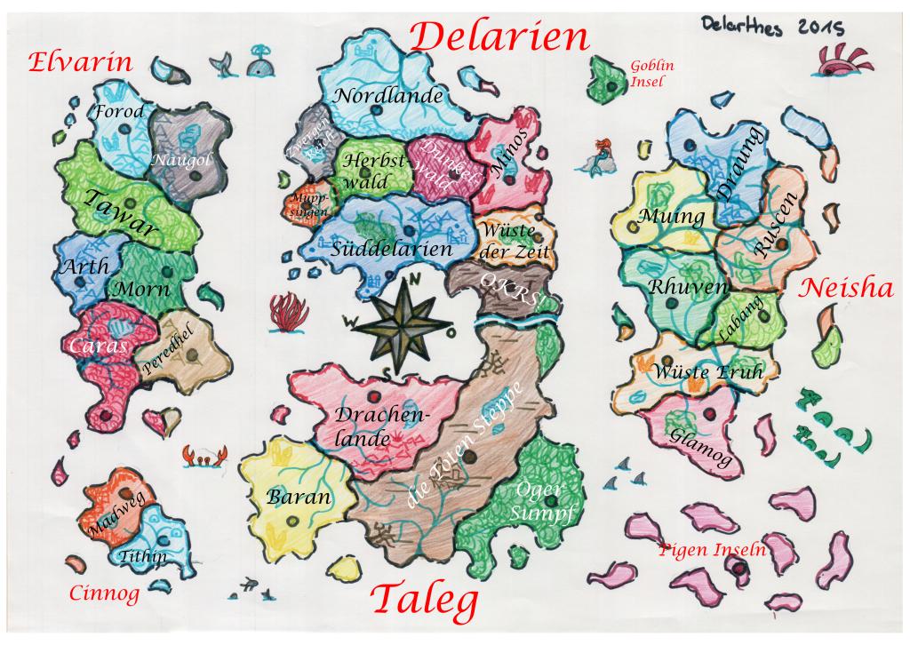 Delartes Map 0.1